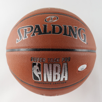Jerry West Signed NBA Basketball (JSA COA) at PristineAuction.com