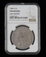 1886-O Morgan Silver Dollar (NGC Fine Details) at PristineAuction.com