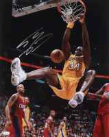 Shaquille O'Neal Signed Lakers 16x20 Photo (JSA COA) at PristineAuction.com