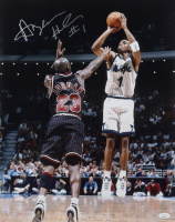 Anfernee Hardaway Signed Magic 16x20 Photo (JSA COA) at PristineAuction.com