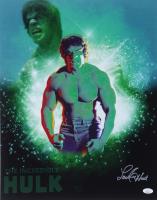 "Lou Ferrigno Signed ""The Incredible Hulk"" 16x20 Photo (JSA COA) at PristineAuction.com"