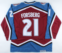 Peter Forsberg Signed Avalanche Jersey (Beckett COA) at PristineAuction.com