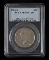 1986-S Kennedy Half Dollar (PCGS PR69 Deep Cameo) at PristineAuction.com