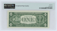 Set of (10) 1957 $1 Blue Silver Certificate Bank Notes (PMG Gem Uncirculated 65 EPQ) at PristineAuction.com