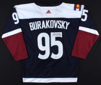 Andre Burakovsky Signed Avalanche Jersey (Beckett COA) at PristineAuction.com