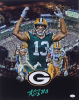 Allen Lazard Signed Packers 16x20 Photo (JSA COA) at PristineAuction.com