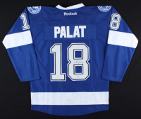 Ondrej Palat Signed Lightning Jersey (Beckett COA) at PristineAuction.com