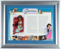"Walt Disney's ""Jasmine"" 13x16 Custom Framed Print Display with Jasmine Patch (See Description) at PristineAuction.com"