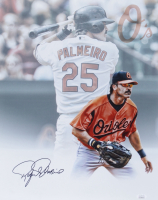 Rafael Palmeiro Signed Orioles 16x20 Photo (JSA COA) at PristineAuction.com