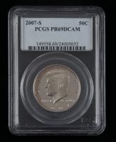 2007-S Kennedy Half Dollar (PCGS PR69 Deep Cameo) at PristineAuction.com