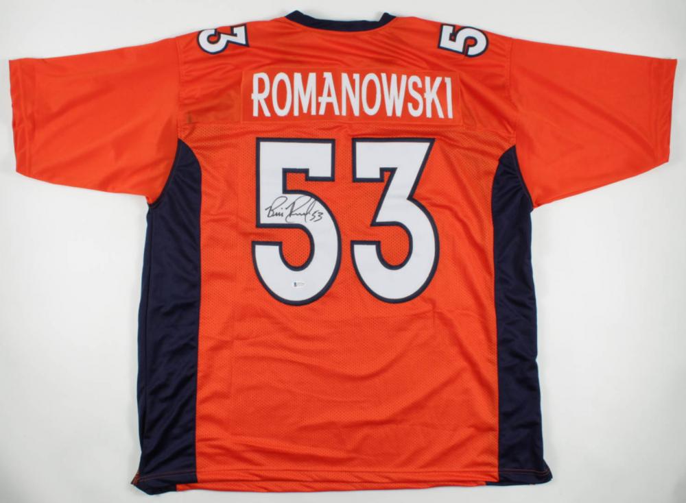 Bill Romanowski Signed Jersey (Beckett COA) at PristineAuction.com