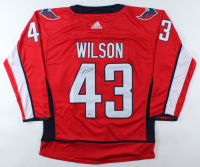 Tom Wilson Signed Capitals Jersey (Beckett COA) at PristineAuction.com