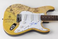"Elijah Wood Signed ""Lord of the Rings"" Huntington 39"" Electric Guitar (PSA COA) at PristineAuction.com"