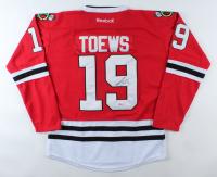 Jonathan Toews Signed Blackhawks Jersey (Beckett COA) at PristineAuction.com