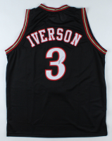 Allen Iverson Signed Jersey (JSA COA) (See Description) at PristineAuction.com