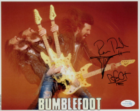 "Ron Thal Signed Bumblefoot 8x10 Photo Inscribed ""Bfoot"" (AutographCOA COA) at PristineAuction.com"