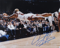 Dennis Rodman Signed Bulls 16x20 Photo (JSA COA) at PristineAuction.com