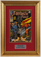 "Stan Lee Signed ""Fantastic Four"" Issue #80 12.75x17.75 Custom Framed Comic Book (PSA COA) at PristineAuction.com"