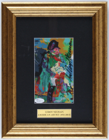 LeRoy Neiman Signed 10.75x14.75 Custom Framed Original Lithograph Display (JSA COA) at PristineAuction.com