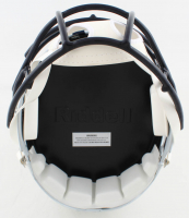 Zack Martin Signed Cowboys Full-Size Matte White Speed Helmet (Beckett Hologram) at PristineAuction.com