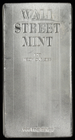 """Wall Street Mint"" 100 Troy Ounces .999 Fine Silver Bullion Bar at PristineAuction.com"