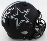 Zack Martin Signed Cowboys Full-Size Eclipse Alternate Speed Helmet (Beckett Hologram) at PristineAuction.com