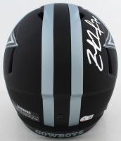 Zack Martin Signed Cowboys Full-Size Eclipse Alternate Speed Helmet (Beckett Hologram) at PristineAuction.com