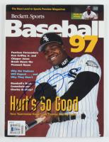 Frank Thomas Signed 1997 Beckett Baseball Magazine (Beckett COA) at PristineAuction.com