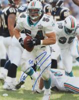 Zach Thomas Signed Dolphins 16x20 Photo (JSA COA) at PristineAuction.com