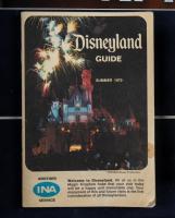 """Disneyland"" 14.5x24.5 Custom Framed Print Display with Original Souvenir Guide Display & Ceramic Souvenir Dish at PristineAuction.com"