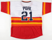 """Terry Puhl Signed Jersey Inscribed """"1978 All Star"""" (JSA COA) at PristineAuction.com"""