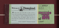 """Disneyland """"Space Mountain"""" 15x26 Custom Framed Print Display with Vintage Ticket Book & Postcard at PristineAuction.com"""