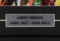 "LeRoy Neiman ""F.X. McRory's Whiskey Bar"" 25x16 Custom Framed Print Display at PristineAuction.com"