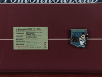 """Disneyland """"Space Mountain"""" 15x26 Custom Framed Print Display with Vintage 'E' Ticket & Space Mountain Pin at PristineAuction.com"""