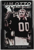 """Jim Otto Signed """"Jim Otto: The Pain Of Glory"""" Hardcover Book Inscribed """"H.O.F. 1980"""" (JSA COA) at PristineAuction.com"""