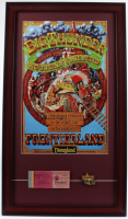 "Walt Disney's ""Big Thunder Mountain Railroad"" 15x26 Custom Framed Print Display with Vintage Ticket Booklet & Lapel Pin at PristineAuction.com"