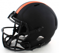 Jarvis Landry Signed Browns Full-Size Eclipse Alternate Speed Helmet (Beckett COA) at PristineAuction.com
