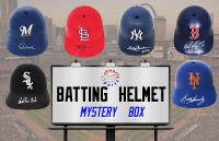 Schwartz Sports Baseball Batting Helmet Signed Mystery Box - Series 3 (Limited to 100) at PristineAuction.com