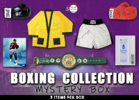 Schwartz Sports Boxing Collection Signed Mystery Box - Series 8 (limited to 100) (3 Boxing Autographs Per Box) (Pristine Exclusive Edition) at PristineAuction.com