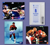 Schwartz Sports Boxing Collection Signed Mystery Box - Series 8 (limited to 100) (3 Boxing Autographs Per Box) (Pristine Exclusive Edition) *Floyd Mayweather Jr. Signed Championship Belt Redemption* at PristineAuction.com