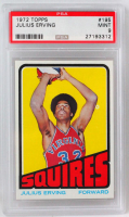 Julius Erving 1972-73 Topps #195 RC (PSA 9) at PristineAuction.com
