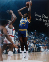 "Robert Parish Signed Warriors 16x20 Photo Inscribed ""1 Rd Pick #8"" (TriStar Hologram) at PristineAuction.com"