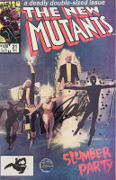 "Stan Lee Signed 1984 ""The New Mutants"" Issue #21 Marvel Comic Book (Lee COA) at PristineAuction.com"