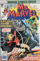 "Stan Lee Signed 1977 ""Ms. Marvel"" Issue #5 Marvel Comic Book (Lee COA) at PristineAuction.com"