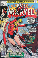 "Stan Lee Signed 1977 ""Ms. Marvel"" Issue #14 Marvel Comic Book (Lee COA) at PristineAuction.com"
