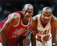 Tim Hardaway Signed Heat 16x20 Photo (PSA Hologram) at PristineAuction.com