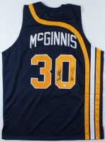 "George McGinnis Signed Jersey Inscribed ""HOF 2017"" (PSA COA) (See Description) at PristineAuction.com"