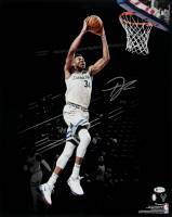 Giannis Antetokounmpo Signed 16x20 Photo (Beckett COA) at PristineAuction.com