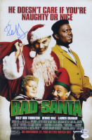 "Billy Bob Thornton Signed ""Bad Santa"" 12x18 Photo (Beckett COA) at PristineAuction.com"