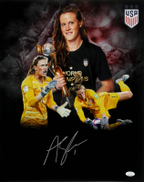 Alyssa Naeher Signed Team USA Soccer 16x20 Photo (JSA Hologram) at PristineAuction.com